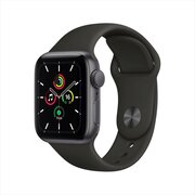Apple Watch SE 40mm Aluminum Case with Sport Band фото