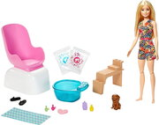Barbie Mani-Pedi Spa Playset GHN07 фото