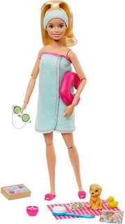 Barbie Spa Doll Blonde GJG55 фото