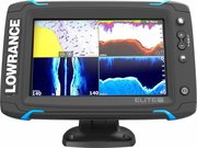 Lowrance Elite-7Ti Mid/High/TotalScan фото
