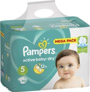 Pampers подгузники Active Baby-Dry 11-16 кг (90 шт) фото